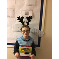Kal-El is Year 4's Star Mathmetician this half term.