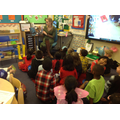 Miss Walsh read to Y1