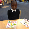 Matching initial letter sounds to pictures