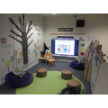 Reception reading area