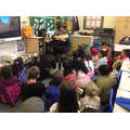 Mrs Coleman read to Y3