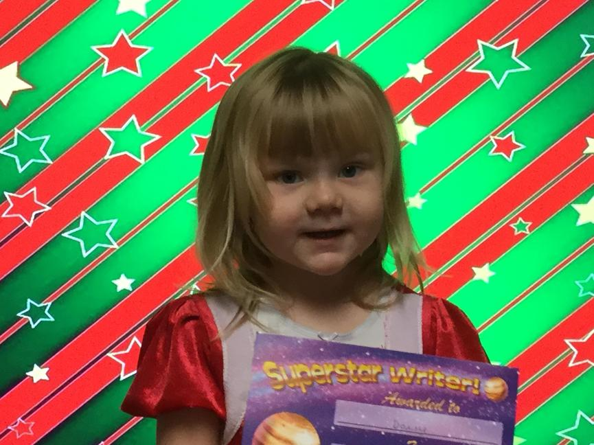 Our morning star writer is Daisy