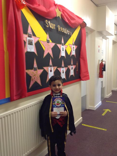 Yousaf was Y2's star reader for Autumn 1