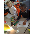 Science work - learning about materials
