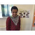 Year 6's sports award goes to Adrians.