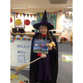 Room on the broom witch