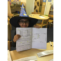 Our maths whizz of the day Shaharyar!