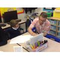 Creative story writing with Conrad