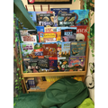 Reading area- topic books changed termly