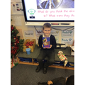 Opening our advent books