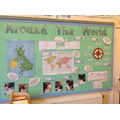 Y3 - Geography - All around the world