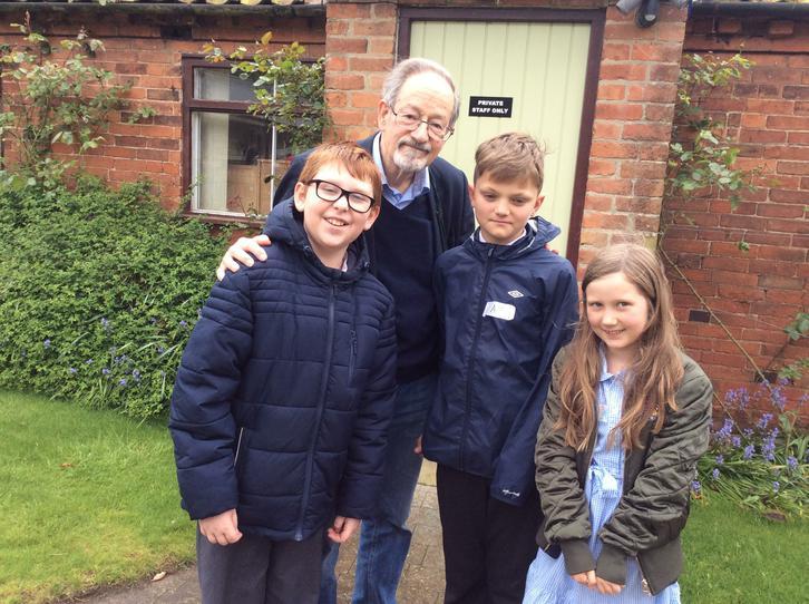 Meeting Dr. Martin Stern - A Holocaust Survivor