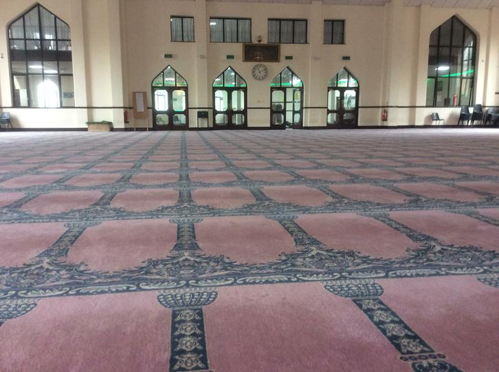 Inside a prayer room