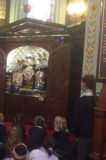 Viewing the Torah Scrolls