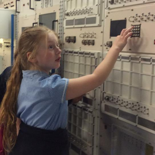 Exploring the National Space Centre