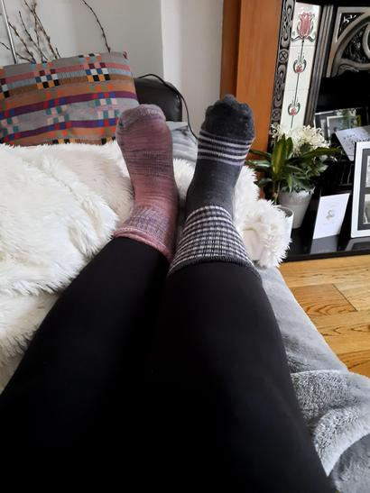 Mrs Torres odd socks