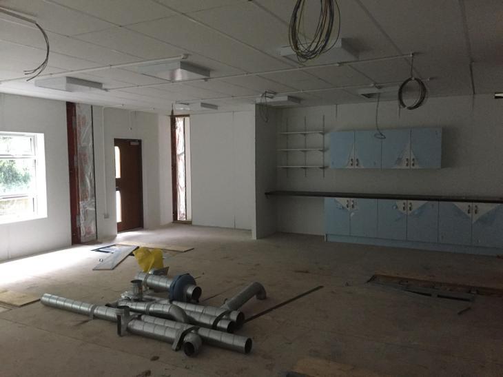 A new classroom