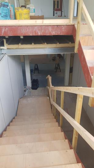 We will have two floors