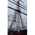 Masts of the Cutty Sark.