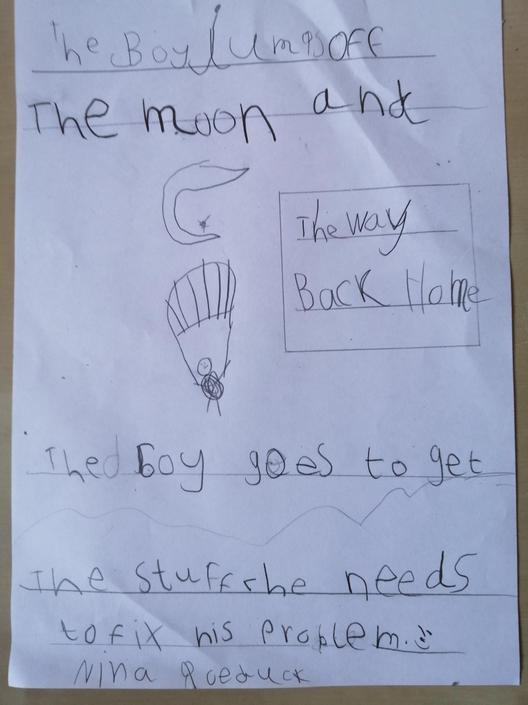 He got all the tools he needed didn't he! Lovely writing!