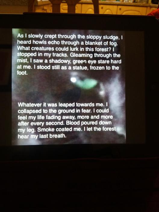 XS- This is fantastic!! Great use of senses and personification! Scary!!