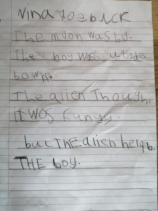 Lovely writing. You are trying hard!