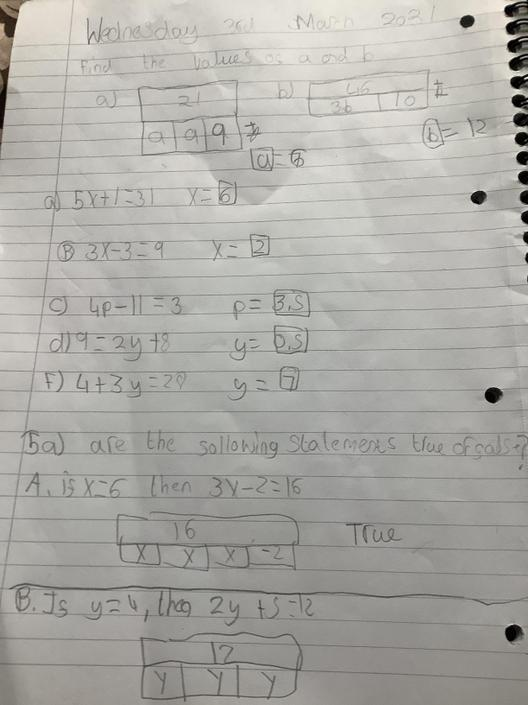 JA- Great algebra today! I can see you've got a good understanding of this.