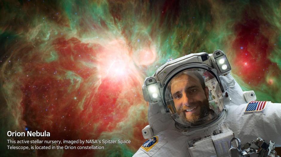 Mr Murphy in space