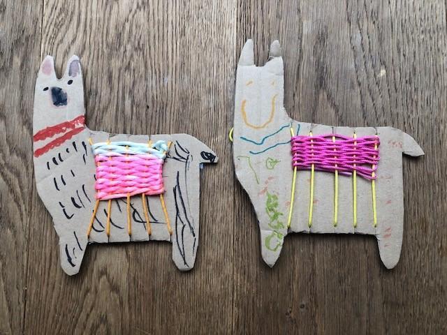 Our first Walkley llamas! Amazing work Jimmy!
