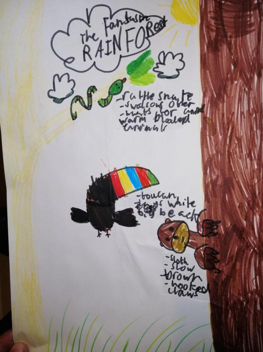 A great poster! I love your drawings!