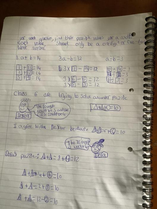 JA- More great algebra!! Well done!