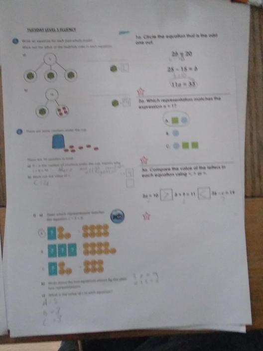 KP- Super fluency work! It's all correct!
