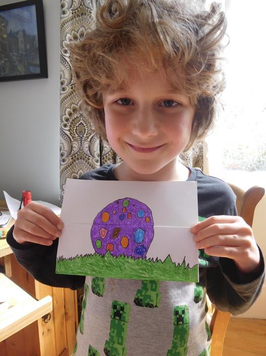 Egg-citing Easter Artwork