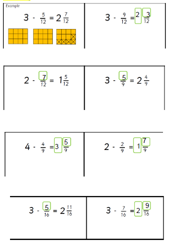 Fantastic work today. How did you work out your answer? Using a bar model?