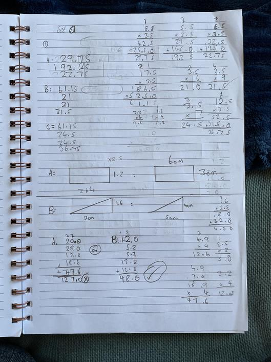 AT - Great maths work