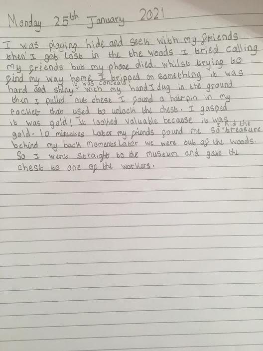 Great vocabulary and time adverbials used!