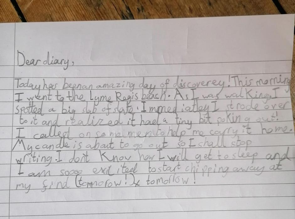 What a fantastic response to the text! I can feel the excitement in your writing!