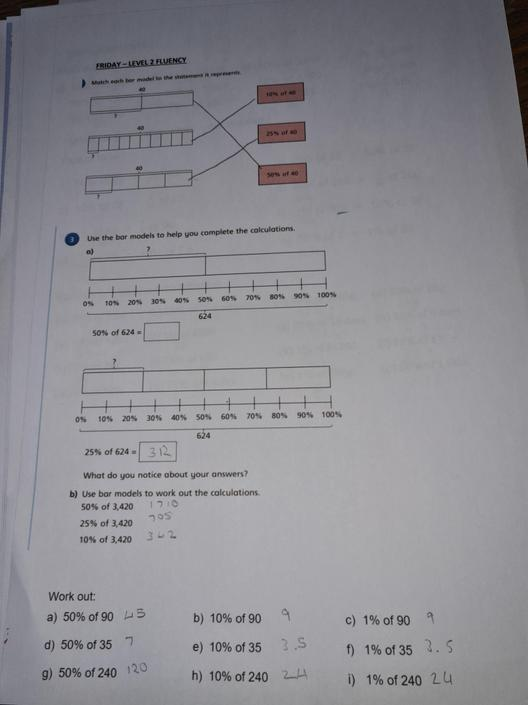KP- Great work again! Check 3a and b. I think you put the number in the wrong box.
