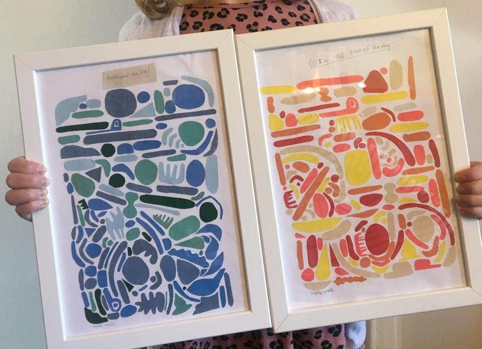 'Fossils Under the Sea' & 'Out In the Heat of the Day'