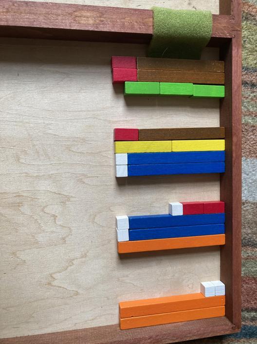 Good use of blocks for visual representation.