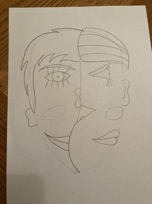 My portrait - looks just like me!