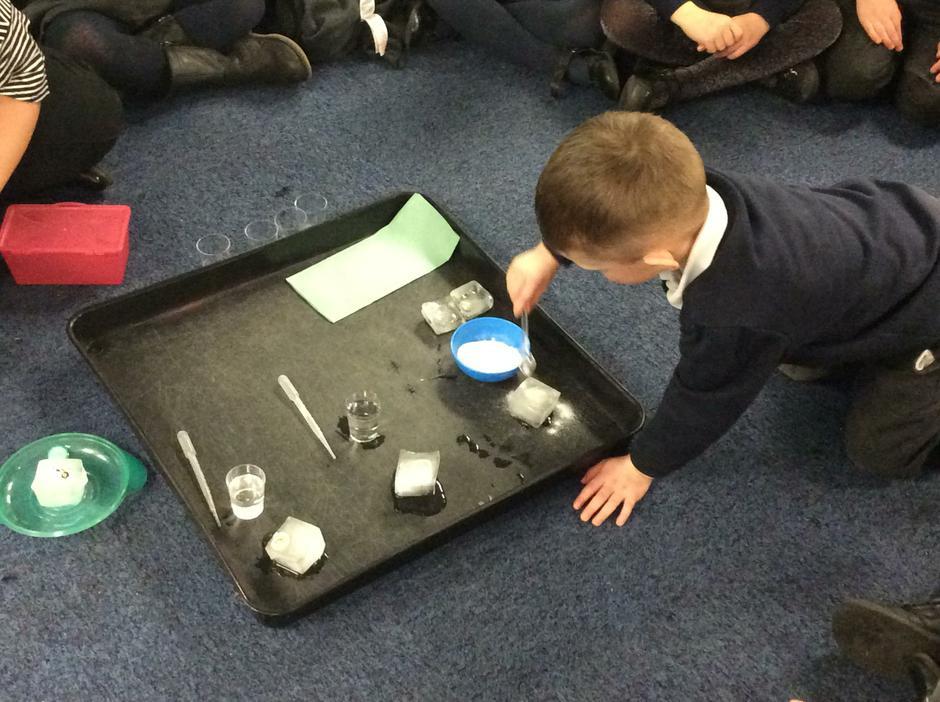 Taking turns to test each method of melting