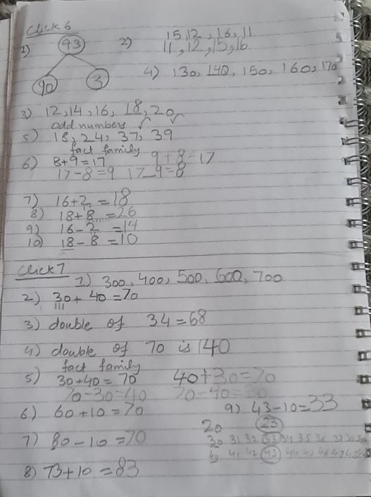 Good maths this week!
