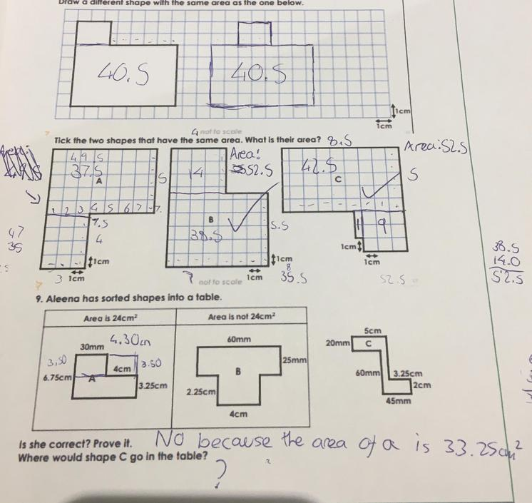 CW - great! C would go in to 'not 24cm squared'