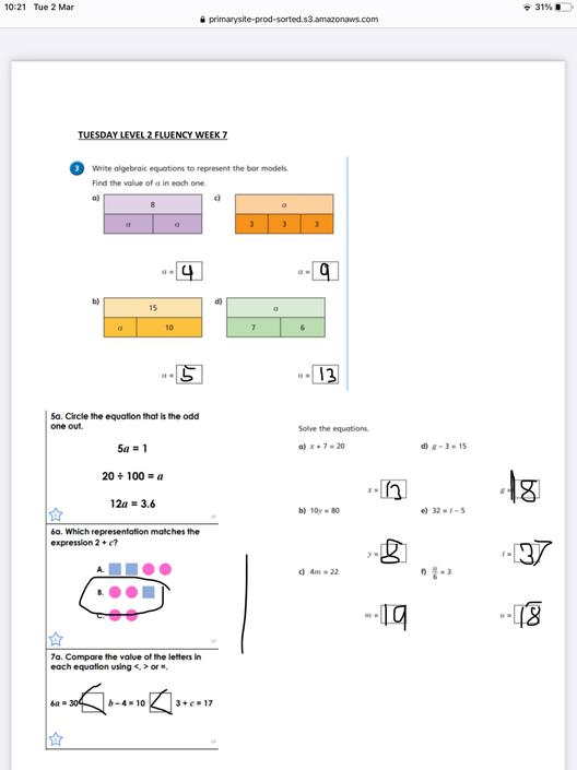 AG- Great fluency work!