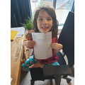 Fantastic writing. You look really proud.