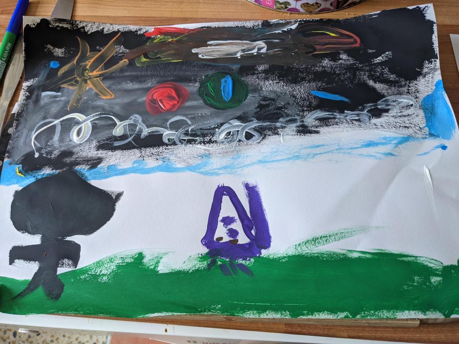 A painting. Wonderful work!