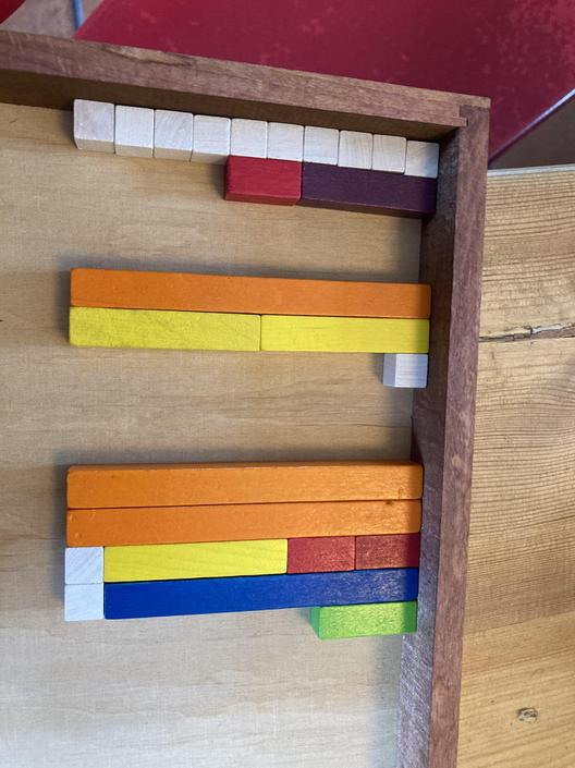 Good use of blocks to show your numbers!