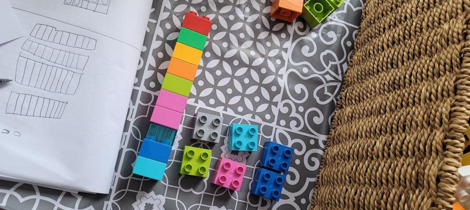Great idea to use your cubes!