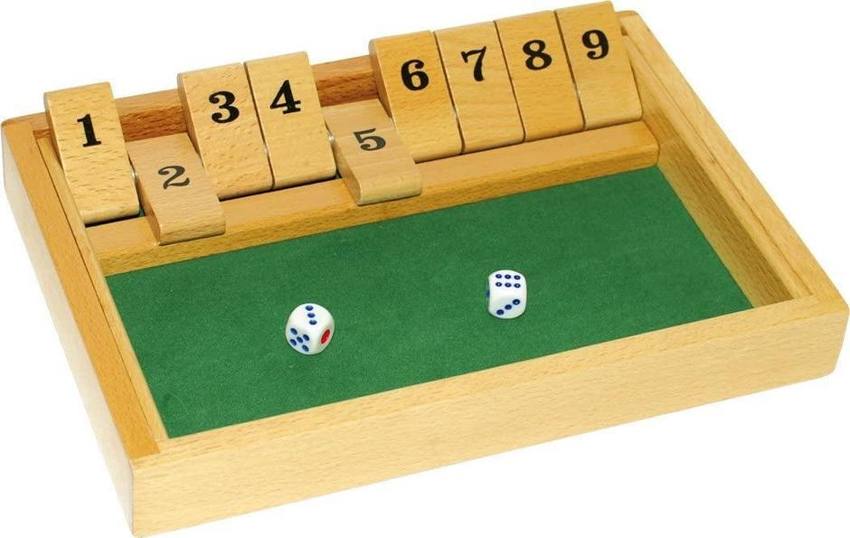 Traditional Shut the Box